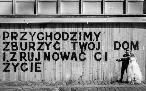 pomysł na sesję ślubną Poznań